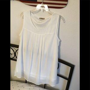 Chiffon tank blouse